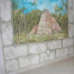 The Coba room mural