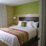 1 bedroom of the 2 bedroom suite