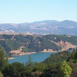 Lake Sonoma--it's beautiful AND near Napa Valley!