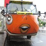 Faire le tour de ville avec un amphibus