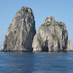 the Faraglioni at Capri