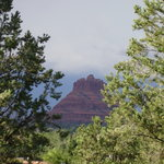 A view of Bell Rock (Tuctu) from The Sedona Dream Maker