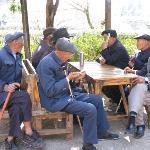納西族男人不用工作, 只作7件事:琴棋書畫煙酒茶