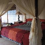 Damai Lovina villa sleeping area