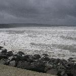 waves smile in Lahinch