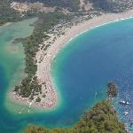 Olu Deniz from the air - taken by me from a microlite.