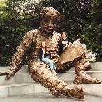 Albert Einstein Memorial Photo