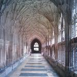 Gloucester cathedral - Harry Potter's cloisters