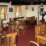Pub seating area