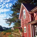 The farmhouse - Jughandle Creek Farm, Mendocino coast, Caspa,r California