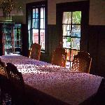 Main dining room - Jughandle Creek farm, Caspar, California
