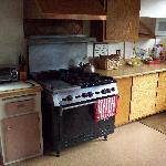 Kitchen at Jughandle Creek Farm