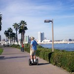 San, Segwaying in Coronado!