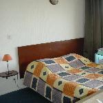 Canapé-lit dans pièce principale