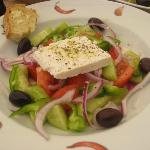 Hercules Greek Salad yummy!!