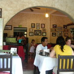 A view of the restaurant