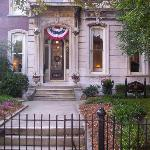 Welcoming Entry to the Dupont Mansion
