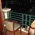Balcony view , night time