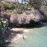 Crique à proximité de la plage d'Aghia Pelagia