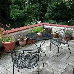 The Parapet patio