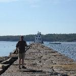 Rockland Breakwater & Lighthouse