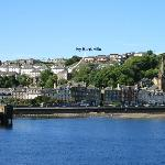 View of Rothesay from the Ferry showing Ivy Bank Villa