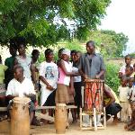 The drum and dance troupe