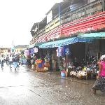 Outside the Takoradi Circle Market