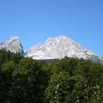 Mt. Watzmann from our bedroom