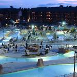 Waterpark at Night