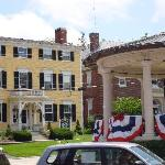View of the Inn from downtown