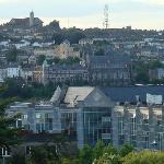View out our window toward Cork College