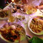 Food at the Marina