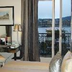 Chambre avec vue sur le lac