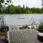 River Access at Kenai River Raven Lodge