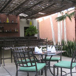 Outdoor Dining at Voila