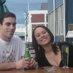 Enjoying A drink At the gin Trap