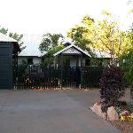 Broome Town B&B front