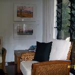 Broome Town B&B sitting area