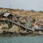 vista popeye village dal mare