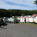 Some of the caravans