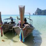 Longtail boats byPhi-Phi