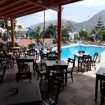 Poolbar at neighbour Dimitris