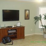 Family room with plasma tv