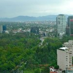 View from the 22nd floor of the W Mexico City