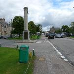The Square in Grantown-on Spey