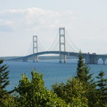 Bridge view from Straits State Park