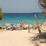 Cala Agulla beach daytime