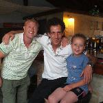 Chris, Nikos and Joseph (My son)