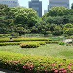 Beautiful gardens of the Imperial palace.